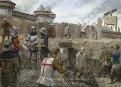 English Army of Henry V at Harfleur 1415