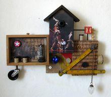 Artist: Pablo Von Lichtenberg's, title: circus, 2012, Assemblage