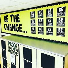 Great hallway display to encourage positive behaviors. Perfect for bulletin…