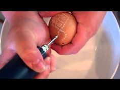 Carving Chicken Eggs
