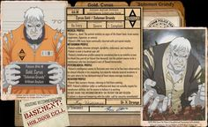 Arkham Files - Solomon Grundy by Roysovitch