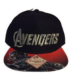 d9957fcd2c1 Marvel s The Avengers Embossed Silver Logo Sublimated Flat Brim Baseball  Cap Hat