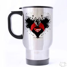 Batman Vs Superman Zombie Travel Mug Cheap And Best Quality 100 Money Back