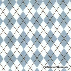 Pure Argyle in Splash by Sweetwater for Moda fabrics 5433-12
