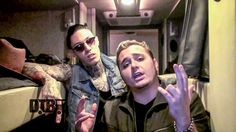 The pop/rock band, Metro Station, takes you on a tour of their bus!