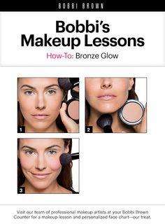 Bobbi Brown Makeup Lessons: Bronze Glow