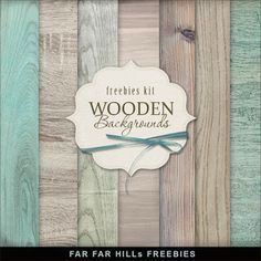 Far Far Hill: New Freebies Wooden Backgrounds