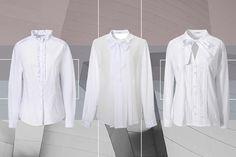 nara camicie bianche foto