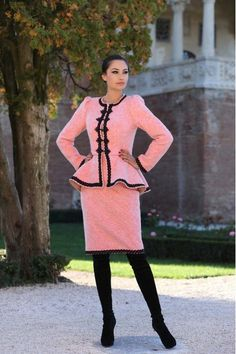 Taior Stofa Dama Romanesc  din lana - Stil Sweaters, Dresses, Fashion, Vestidos, Moda, Fashion Styles, Sweater, Dress, Fashion Illustrations
