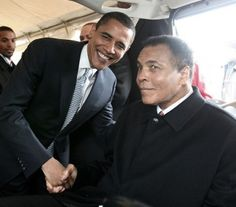obama and ali - Google Search