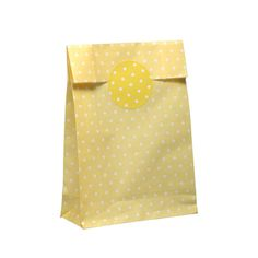 10 Geschenktüten mit Verschluß-Aufkleber von Der Schachtel Shop auf DaWanda.com