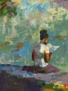 DARREN THOMPSON FINE ART: Stillness