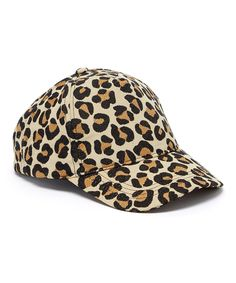 90f3587eb08 This Something Special Brown Leopard Baseball Cap by Something Special is  perfect!  zulilyfinds Brown