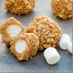 Salted nut roll bites. My mom would love these!!!
