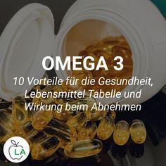 Omega 3 Gewichtsverlust Vorteile