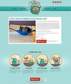 Diseño web de kittycradle.com #webdesign