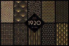 1920 Art Deco Collection Graphics - YouWorkForThem