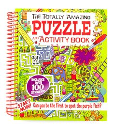 This The Totally Amazing Puzzle & Activity Spiral-Bound Paperback by Baker & Taylor Publishing is perfect! #zulilyfinds
