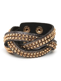 Love these kinds of bracelets! Get the layering effect with only one piece. $32
