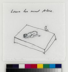 Visit us to license this and other works by Tracey Emin. All rights reserved, DACS/Artimage Photo: Todd-White Art Photography Todd White Art, Tracey Emin, Alone, Art Photography, Mindfulness, Art, Fine Art Photography, Awareness Ribbons