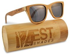21addc22531 Wood Sunglasses made from Maple -100% polarized lenses in a wayfarer that  floats Optical