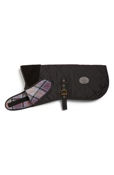 Quilted Barbour dog coat