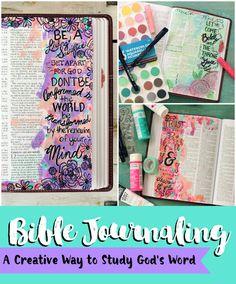 PitterAndGlink: Bible Journaling: A Creative Way to Study God& Word Printable Bible Verses, Scripture Art, Bible Art, Bible Quotes, Bible Study Journal, Art Journaling, Bible Prayers, Illustrated Faith, Journal Cards