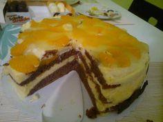 Mandarinentorte mit Litschis - exotisch aber lecker :-) Geburtstag Schatz vor 2 Jahren
