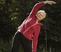 Older Adults Exercising Outside