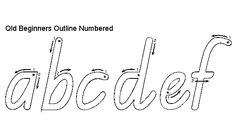Finally, a FREE NSW Foundation Handwriting Font. by Rob