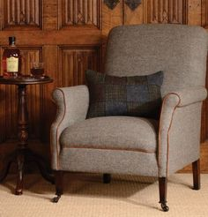 Couch Furniture, Large Furniture, Quality Furniture, Wingback Chair, Armchair, Tetrad Sofa, Harris Tweed, Sofas, Accent Chairs