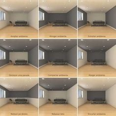 Dark room colors and lively wall color. - Dark room colors and lively wall color. Visually changed interior dimensions – dark room colors a - Interior Design Living Room, Living Room Designs, Living Room Decor, Interior Wall Colors, Office Paint Colors, Interior Design Tips, Interior Walls, Wall Paint Colors, Interior Painting