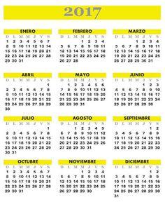 Almanaques: Almanaque 2017 | himnos | Pinterest