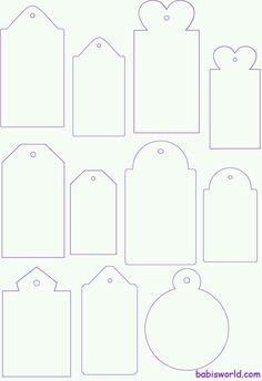 Modelos de tags.