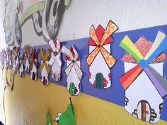 RAQUEL INFANTIL: DECORACIÓN TEMÁTICA DEL QUIJOTE Monet, Drawings, Diy, Crafts, Home Decor, Embroidery Ideas, Hand Embroidery, Venn Diagrams, School Stuff