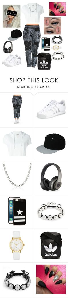 """Hipster"" by princesscupid98 ❤ liked on Polyvore featuring adidas, Calvin Klein Jeans, Beats by Dr. Dre, Givenchy, Bling Jewelry, Kate Spade and adidas Originals"