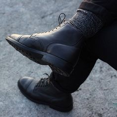 """""""Service Boot in Black Camel now available on Viberg.com"""""""