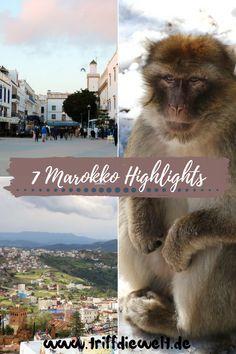 Diese 7 Marokko Highlights bleiben im Gedächtnis! Was kann ich Dir bei einer Marokko Reise empfehlen? Entdecke Marokko Highlights abseits der Touristenpfade und solche mittendrin. #marokko #afrika #backpacking #marokkoreise