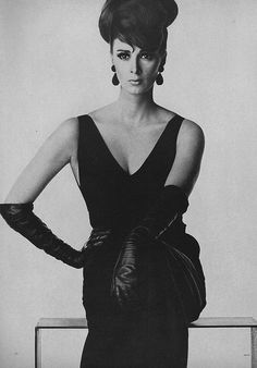 Wilhelmina, March Vogue 1963  by Irving Penn