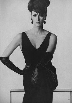 Wilhelmina, March Vogue 1963  by Irving Penn