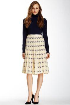 Kara Silk Skirt by Tory Burch on @nordstrom_rack