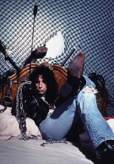 See Alice Cooper pictures, photo shoots, and listen online to the latest music. Alice Cooper Songs, Detroit, 1976 Movies, Michigan, Travel Humor, Claire Holt, Ozzy Osbourne, Rock Legends, Wedding Humor