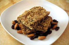 Chewy Homemade Granola Bars Recipe. Made with Coconut Oil and easily made Gluten Free!