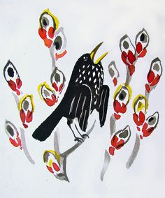 Singing bird, Mai Miturich.
