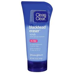Clean & Clear Blackhead Eraser Scrub ($5.29) ❤ liked on Polyvore featuring beauty products and beauty