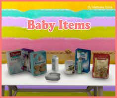 Lana CC Finds - Baby Decor