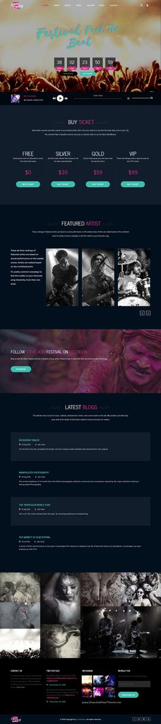 Steve Cadey is a responsive #WordPress theme for #Musicians, #DJs, #Bands & Solo Artists or events website download now➩ https://themeforest.net/item/steve-cadey-wordpress-music-theme-for-musicians-djs-bands-solo-artists/18155951?ref=Datasata