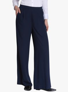 Buy Vero Moda Blue Solid Coloured Pant for Women Online India, Best Prices, Reviews | VE693WA15IEIINDFAS
