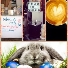 The Easter bunny is coming! We have you covered for the long weekend with all your coffee needs our laneway will be serving express takeaway coffee 8am-5pm Friday- Tuesday! Our cafe will be running normal hours from 7am-6pm and the icecream shop will be open 9-6 also  see you then! #easter #longweekend #coffeemio #easterbunny #portfairy #portfairypics #3284 #greatoceanroad by becspf
