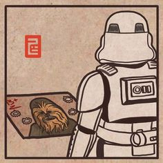 Uuuuuur Ahhhhrrrrr Aaaargh! 얘도 아니야  More at : https://instagram.com/7b.hyeon/ http://7b-hyeon.tumblr.com/ Find : #starwars #stormtrooper #스타워즈 #더포스어워드 #chewbacca #wookie #illustration #artwork #スターウォーズ #darthvader #lightsaber #イラスト #7bhyeon